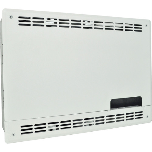 FSR PWB-270 Plasma/Flat Panel Display Wall Box for Crestron DM-RMC-SCALER-C Receiver (White)