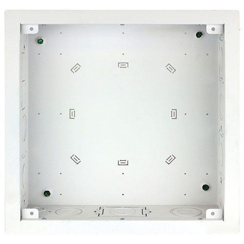 """FSR Large Open-Style Wall Box with Finished Trim Ring (4""""-Deep)"""