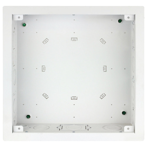 """FSR Large Open-Style Wall Box with Finished Trim Ring (3""""-Deep)"""