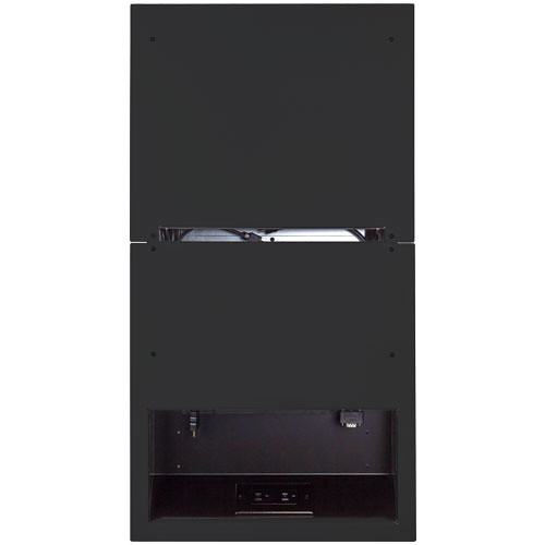 FSR HuddleVU Retractor Wall Box (Black)