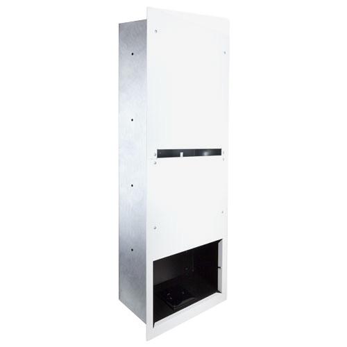FSR HuddleVU Retractor Wall Box (White)