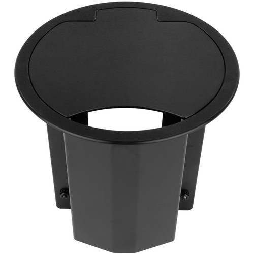 FSR 4 Section Table Box with 1 Universal Bracket (Brushed Anodized Black)