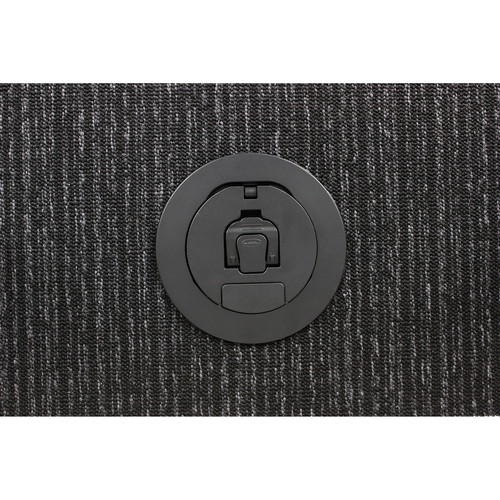 "FSR 4"" Poke Thru Cover (Black)"