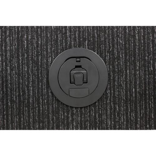 "FSR 4"" Poke-Thru Box & Cover (Black)"