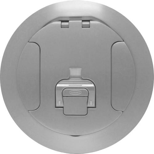 """FSR SF8-CVR-ALM 8"""" Cover for Smartfit Poke-Thru Floor Boxes (Aluminum)"""