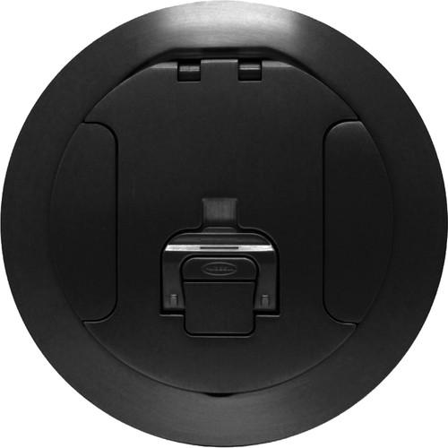 """FSR SF8-CVR-BLK 8"""" Cover for Smartfit Poke-Thru Floor Boxes (Black)"""