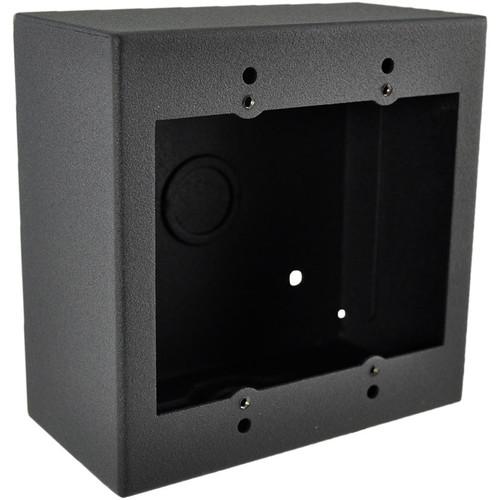 FSR 2-Gang Surface-Mount Wall Box (Black)