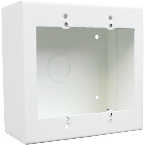 FSR 2-Gang Surface-Mount Wall Box (White)
