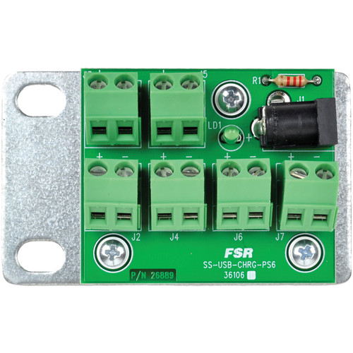 FSR Low-Voltage Distribution Board For DC Powered USB Chargers