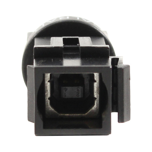 FSR USB B Hard Wired Snap-In Connector (Black)
