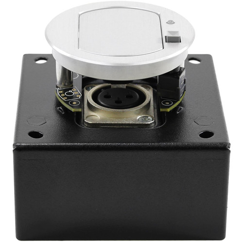 FSR T3-MJ1BM Table Microphone Mount Box with Mute & Improved Noise Isolation (Aluminum Cover)
