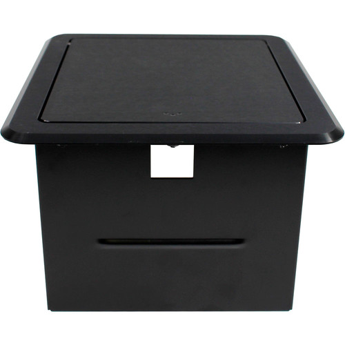 FSR Tilt-Top Table Box for 2-Gang Wall Plate