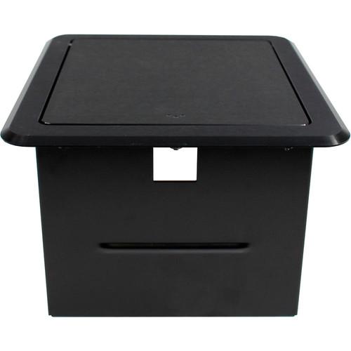 FSR Tilt-Top Table Box for 2-Gang Wall Plate