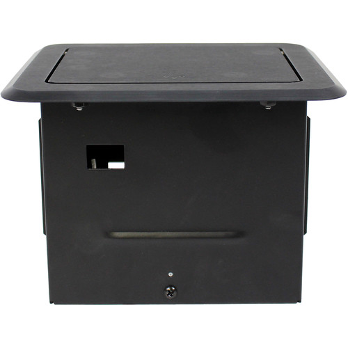 FSR Small Tilt Top Style Table Box for AV/IT Applications