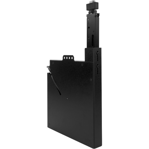 """FSR VGA Cable Retractor with 1/8"""" Phone Jack (Black)"""
