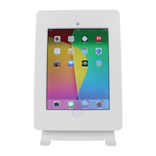 FSR Table Mount for iPad 2/3 with Rotate & Tilt Options (White)