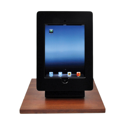 FSR Table Mount for iPad 2/3 with Rotate Tilt & Swivel Options (Black)