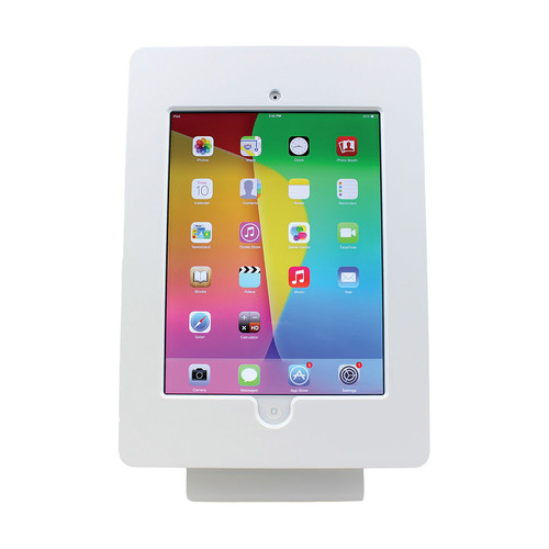 FSR Table Mount for iPad 2/3 with Rotate Tilt & Swivel Options (White)