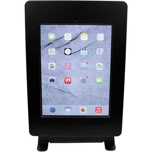 FSR Table Mount for iPad 2/3 with Rotate & Tilt Options (Black)