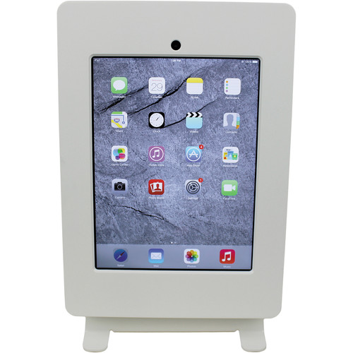 FSR Table Mount for iPad 4 with Rotate & Tilt Options (White)