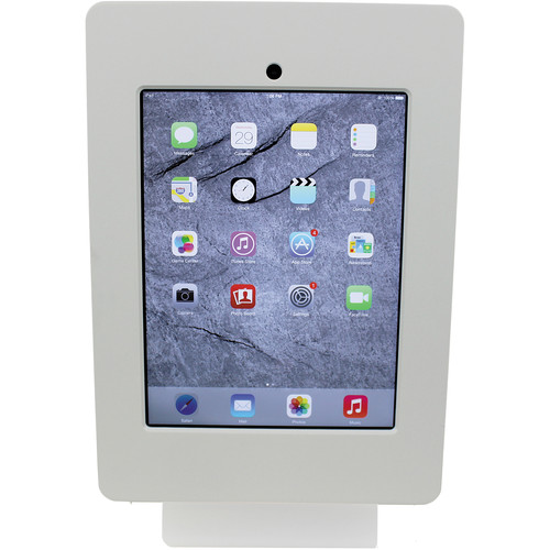 FSR Table Mount for iPad 4 with Rotate Tilt & Swivel Options (White)