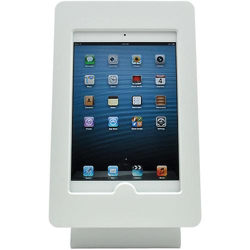 FSR iPad mini Table Mount with Rotate & Tilt Options (White)