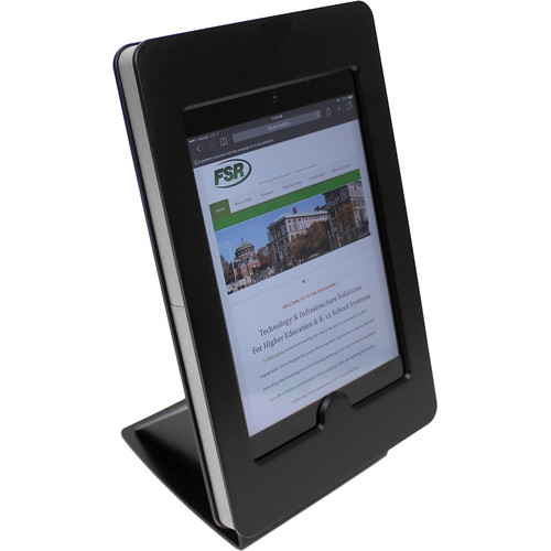FSR iPad mini Table Mount with Rotate Tilt & Swivel Options (Black)