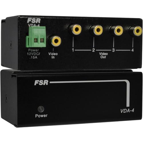 FSR 1x4 Composite Distribution Amplifier