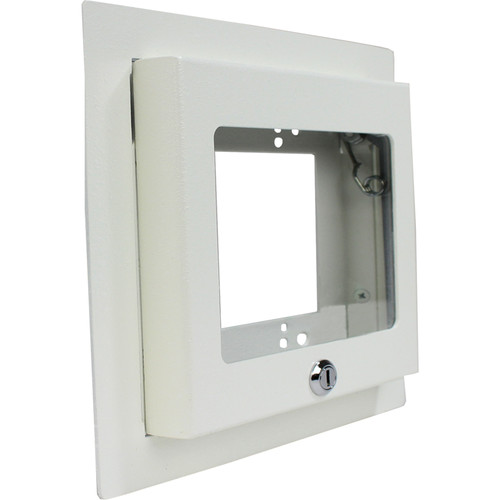 FSR Recessed 2 Gang Wall Box with Plastic Window