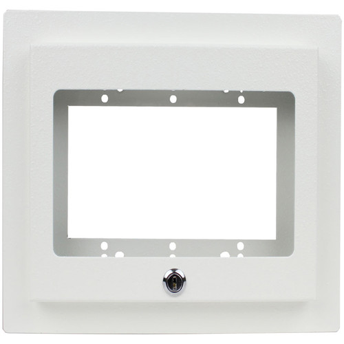 FSR Recessed 3-Gang Mounting Plate with Plastic Cover