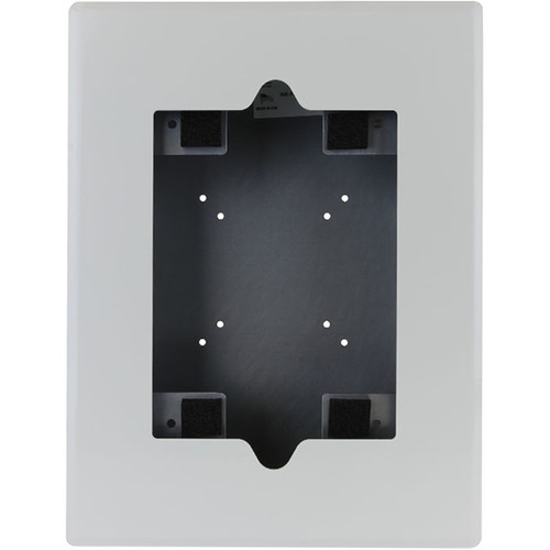 FSR Flush-Mount Enclosure with Home Button Access, Back Box & Cover for iPad Air 1/2 (White)
