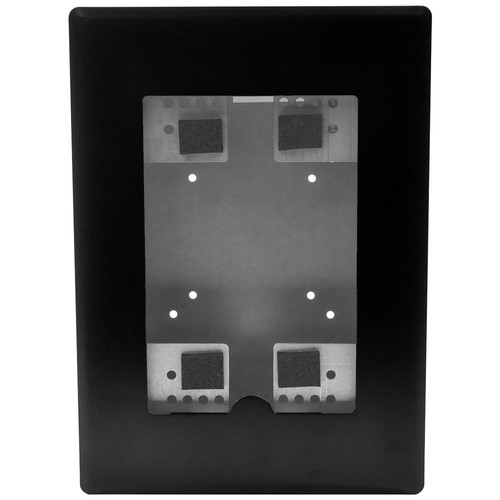 FSR Flush Mount with Back Box and Cover for iPad Mini (Black)
