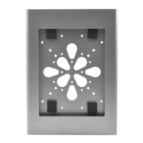 FSR No-Button Enclosure Surface Mount for iPad 2 (Silver)