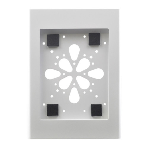 FSR No-Button Enclosure Surface Mount for iPad 2 (White)