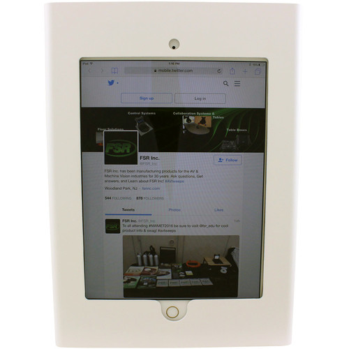 FSR Wall Enclosure for iPad Air 1/2 (White)