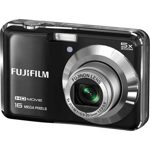 Fujifilm FinePix AX650 Digital Camera (Black)