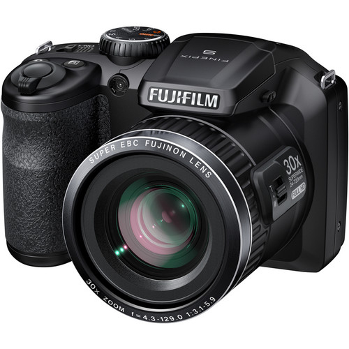 Fujifilm FinePix S6800 Digital Camera (Black)