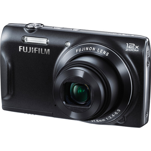 Fujifilm FinePix T550 Digital Camera (Black)