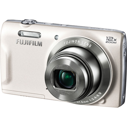 Fujifilm FinePix T550 Digital Camera (White)