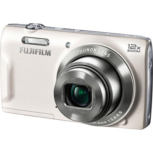 Fujifilm FinePix T550 Digital Camera (White)