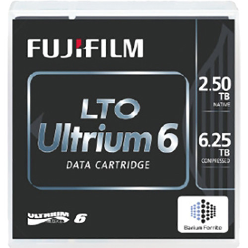 FUJIFILM LTO Ultrium 6 WORM Data Cartridge (2.5/6.25TB)