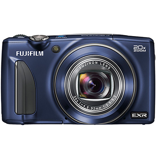 Fujifilm FinePix F900EXR Digital Camera (Indigo Blue)