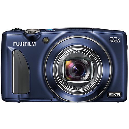 Fujifilm FinePix F900EXR Digital Camera (Indigo Blue)