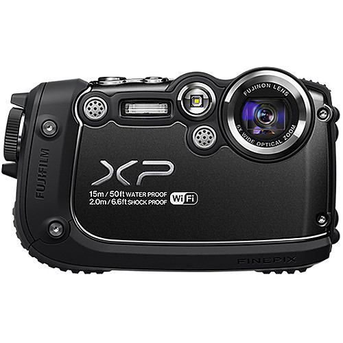 Fujifilm FinePix XP200 Digital Camera (Black)