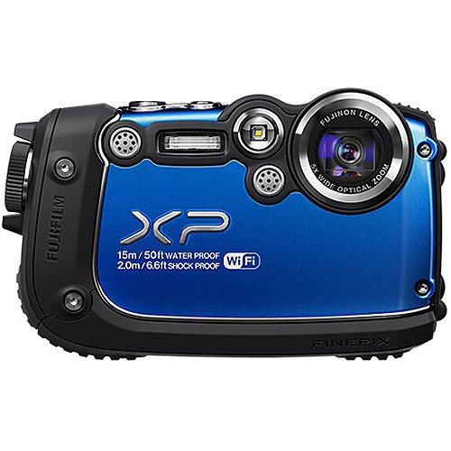 Fujifilm FinePix XP200 Digital Camera (Blue)