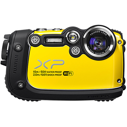 Fujifilm FinePix XP200 Digital Camera (Yellow)