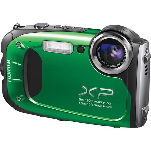 Fujifilm FinePix XP60 Digital Camera (Green)