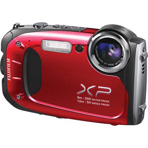 Fujifilm FinePix XP60 Digital Camera (Red)