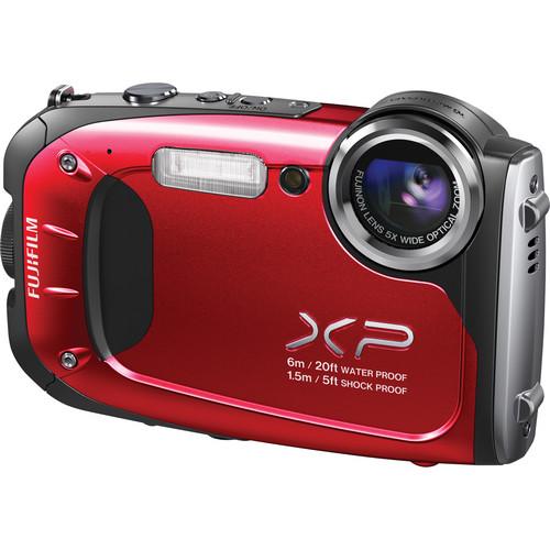 Fujifilm FinePix XP60 Digital Camera (Red)