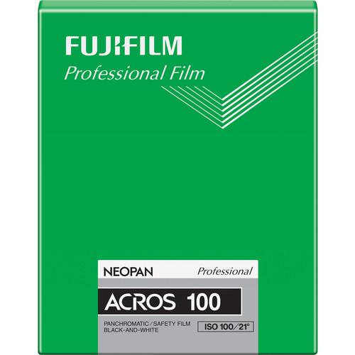 "FUJIFILM Neopan 100 Acros 4 x 5"" Black and White Negative Film (20 Sheets)"